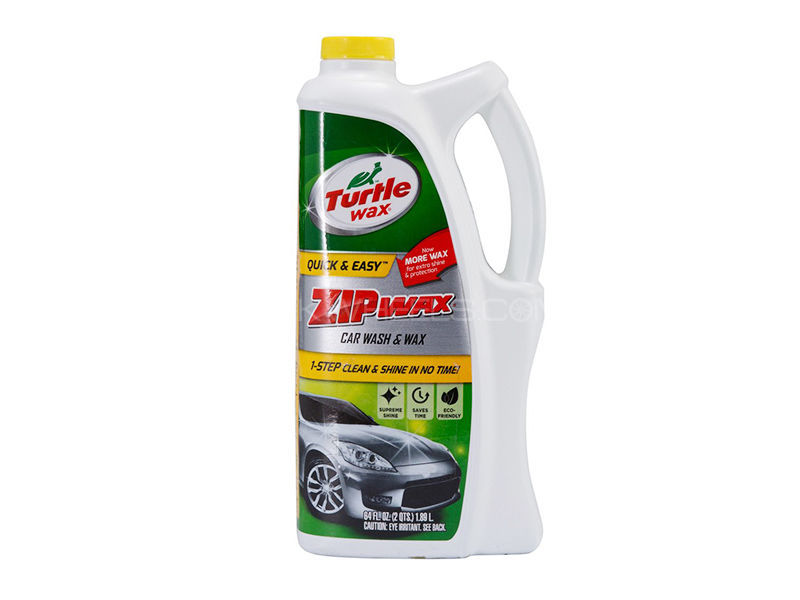Turtle Zip Wax Car Wash - 1.89L in Lahore