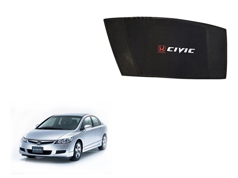 Honda Civic 2007 Reborn Side Window Shades Image-1