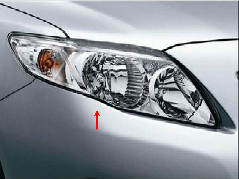 Toyota Corolla TYC Head Lamp 2008-2009 - 1 Pc RH Image-1