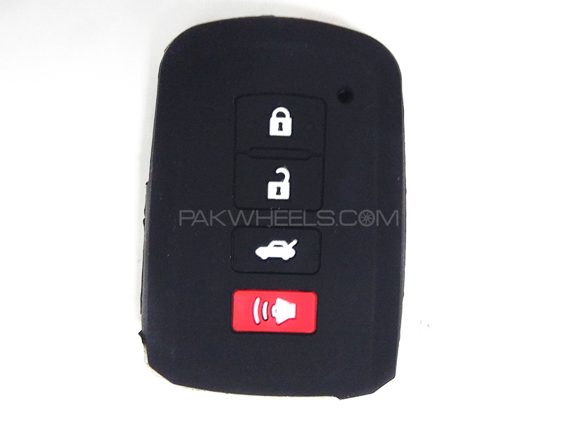 Silicon Key Cover - Toyota Corolla 2017 in Lahore