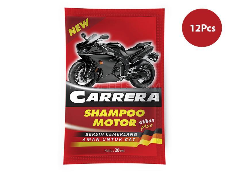 Carrera Motorcycle Shampoo 20 ML - 12pcs in Lahore