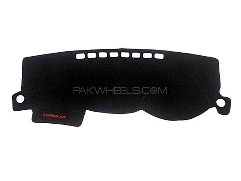 Dashboard Cover Carpet For Toyota Corolla - 2008 Image-1