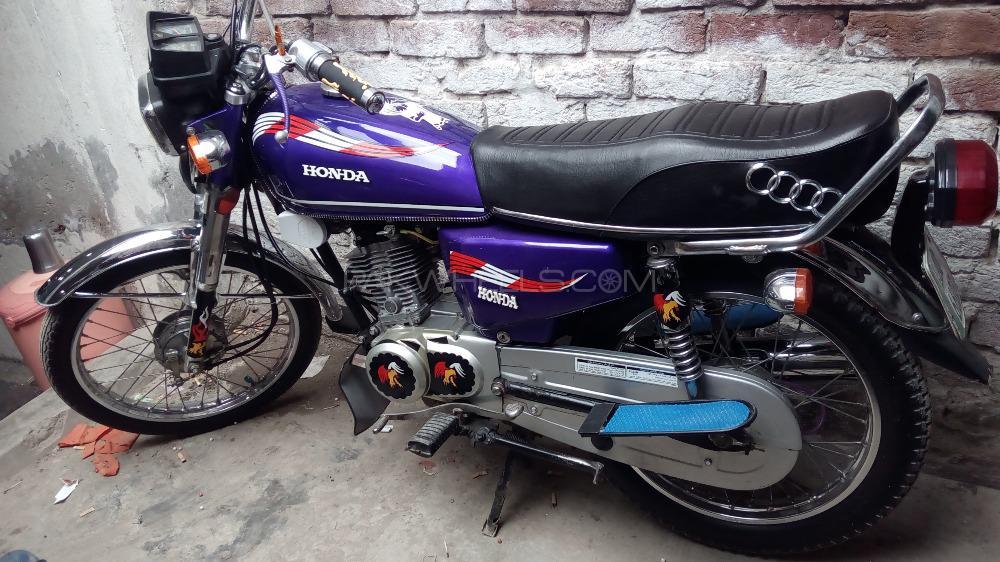 Honda CG 125 1992 Image-1
