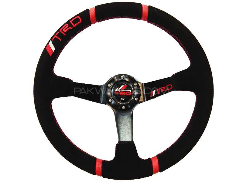 Universal Deep Dish TRD Steering Wheel Image-1