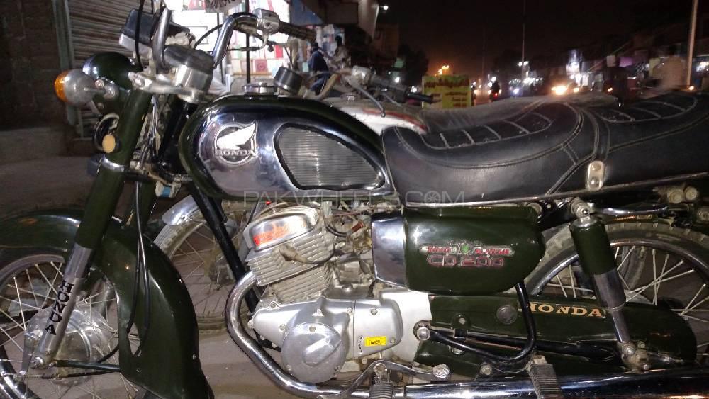 Honda CD 70 1979 Image-1