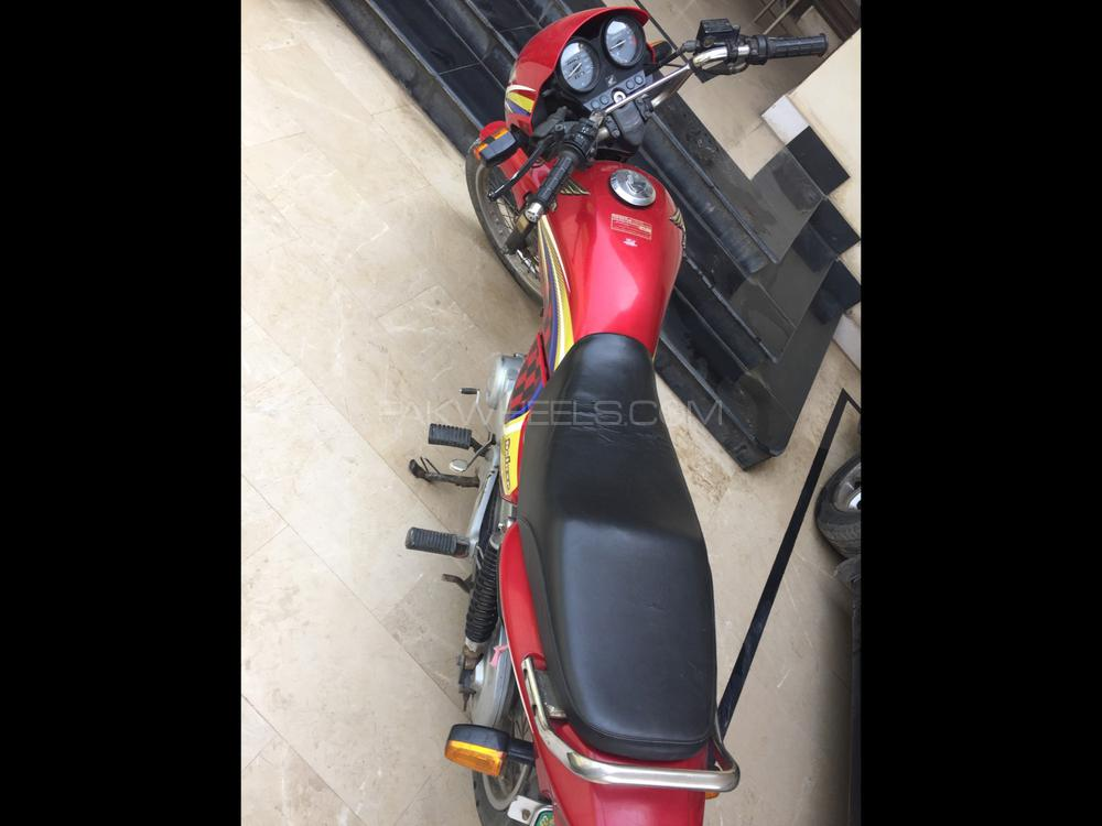 Honda CG 125 Deluxe 2016 Image-1