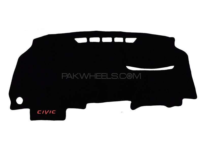 Dashboard Cover Carpet For Honda Civic Reborn - 2007 -2012 Image-1