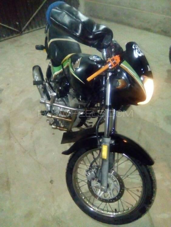 Honda CG 125 Deluxe 2012 Image-1