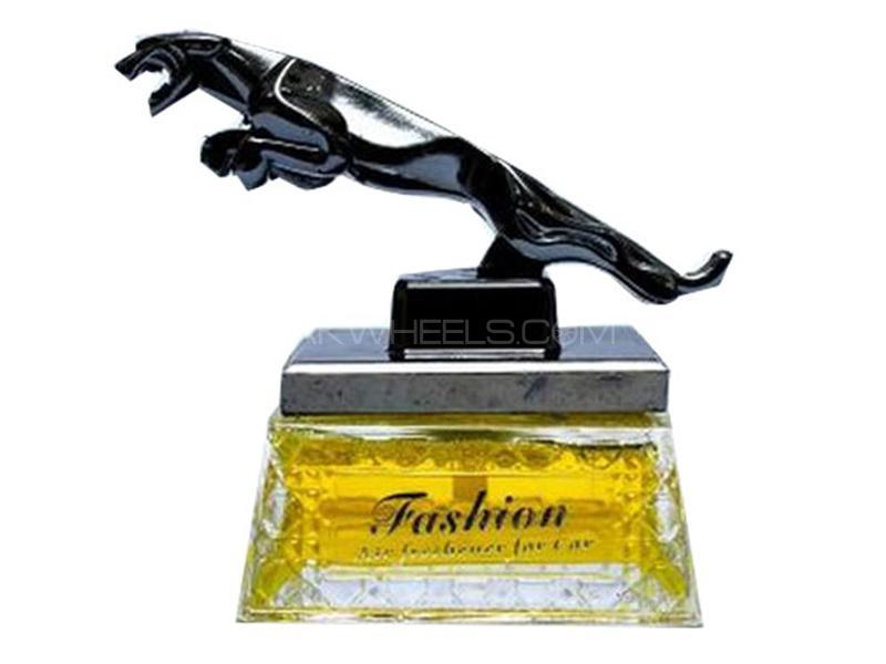 Car Dashboard Perfume -Jaguar  Yellow Image-1