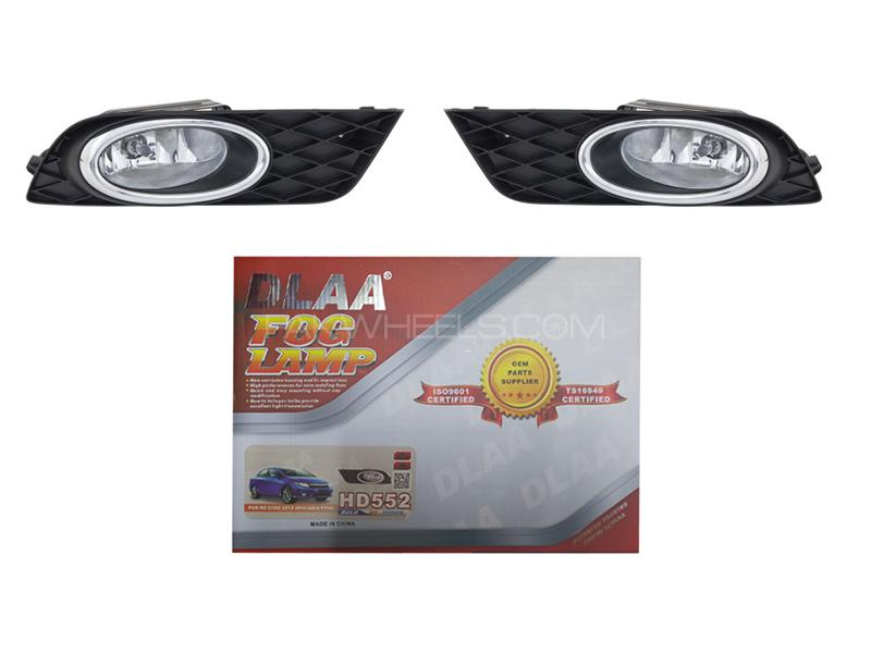 Honda Civic 2012-2015 DLAA Fog Lamp - HD552 Image-1