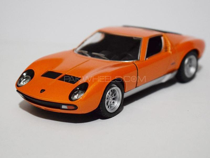 KinSmart Metal Body Die Cast Lamborghini Miura 1971 - Orange in Lahore