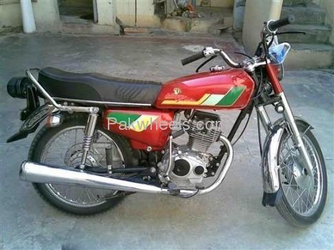 used honda cg 125 1997 bike for sale in islamabad - 104424 | pakwheels