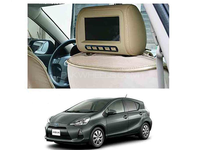Car Headrest Monitor - Aqua 2012-2018 in Karachi