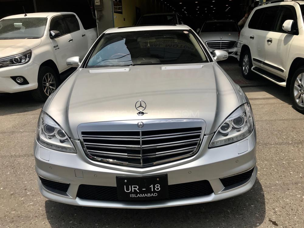 Mercedes Benz S Class S600 2007 Image-1