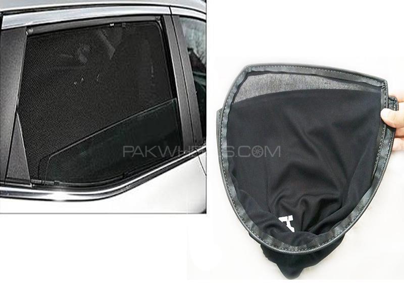 Foldable & Flexible Sun Shades For Toyota Vitz 2013 Image-1