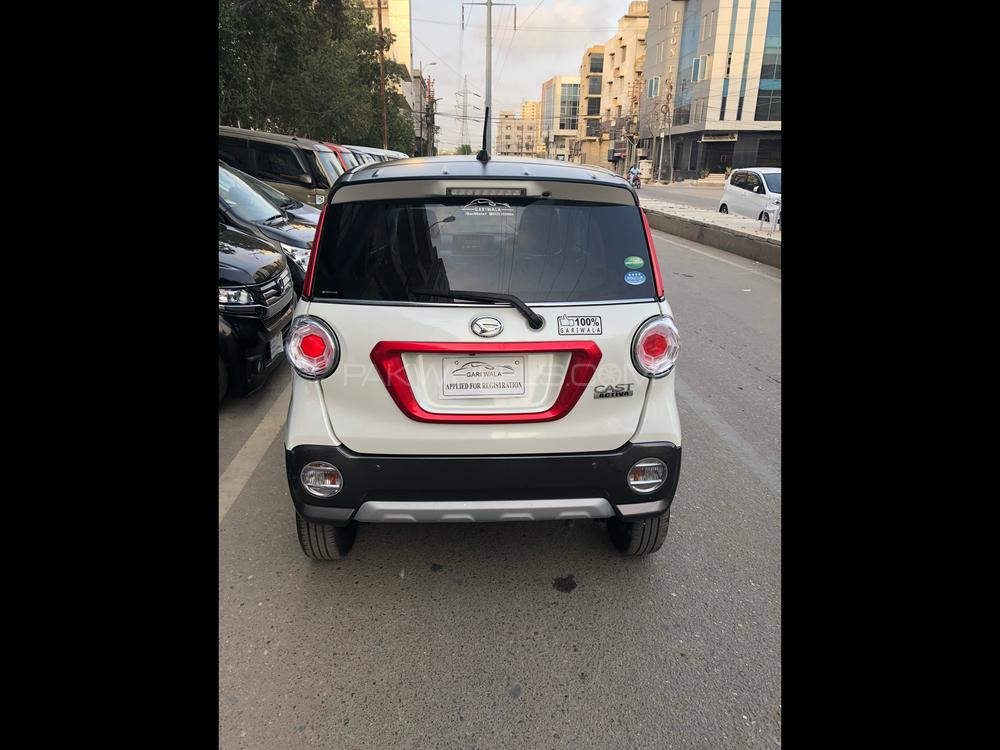 ®GARIWALA® Daihatsu Activa, Activa GSA-ll, 660C.c, Eco-Idle stop technology, Pearl white with White Top(2-Tone), Activa Package, 5-Seater,( Sofa Seats), Model 2016, Fresh cleared/import 2018, Original 4,000 K.M, Original DLR's ( Day Light Running LEDs ), Special Design HID Head Lights Auto headlights, Electrical retractable side mirrors,  Push Start, Power Windows, Power Steering, Traction Control, Original Alloy Wheels, Original HID lights, Xenon Head lamps  Original UV Glass/Windows, Auto start stop engine,  Moveable/slide down Back seat(s),  Original DVD-Player, Back Camera, 100 % Genuine/ Guarantee.