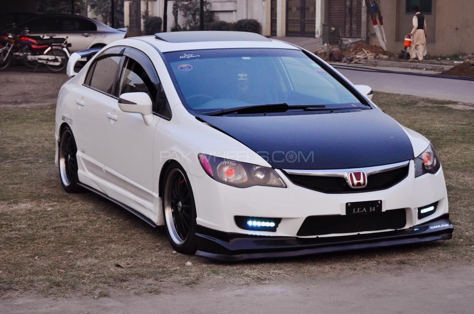 Car Body Kits >> Honda Civic Fiber Plastic Mix Body Kit