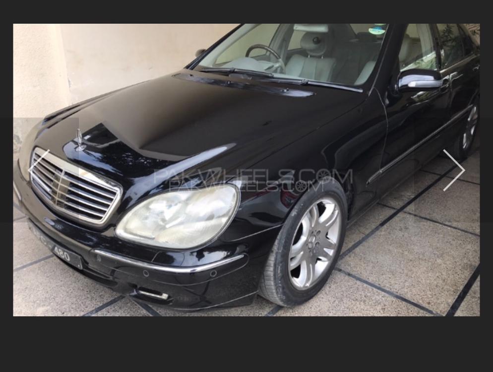 Mercedes Benz S Class 2001 Image-1