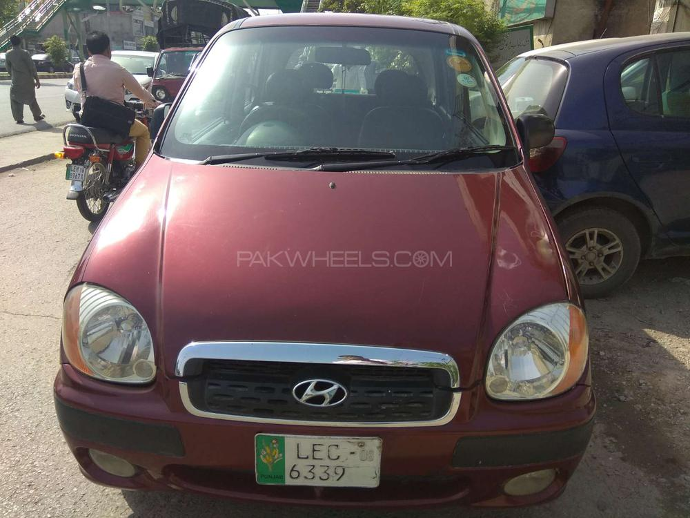 Hyundai Santro Exec GV 2008 Image-1