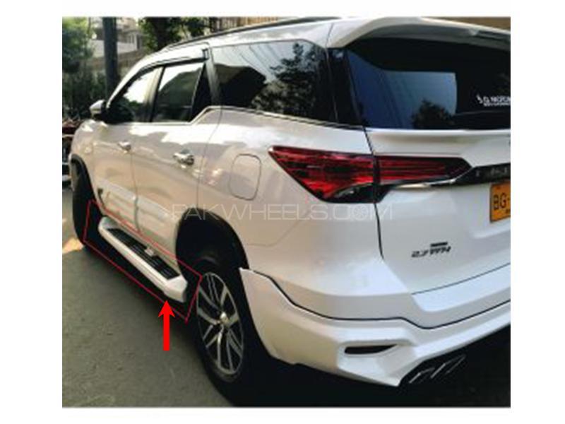 Toyota Fortuner 2016-2018 Side Skirts in Karachi