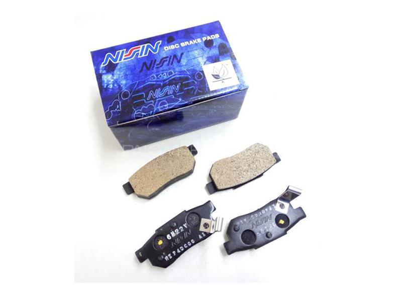 Honda Civic 2001-2004 Nisin Front Brake Pads Image-1