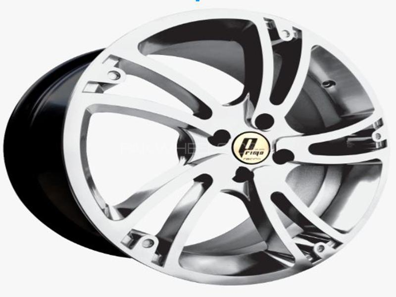 Alloy Rim 100 PCD 4 Hole 17 Inches - Design 21 in Lahore