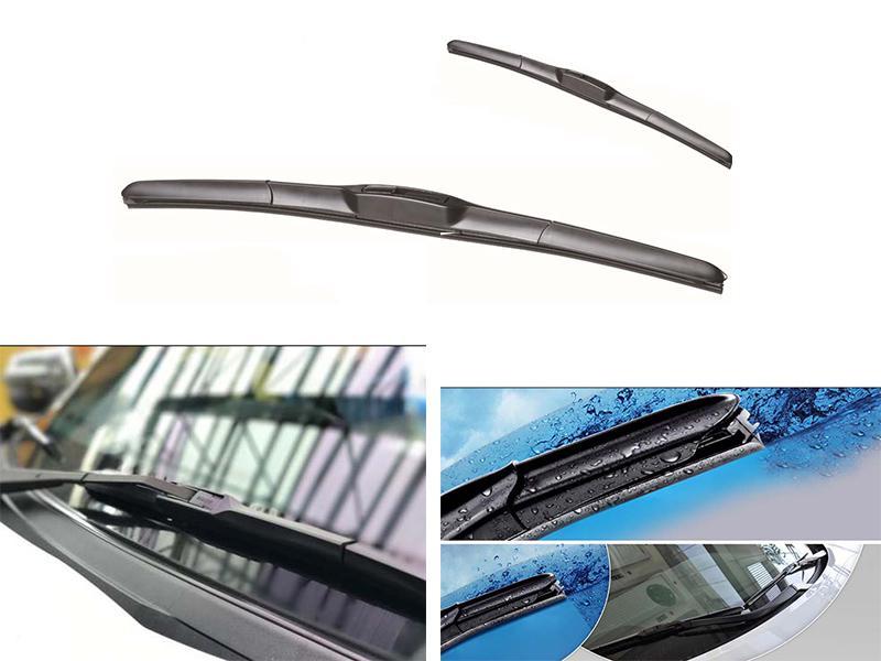 Soft Wipe Hybrid Viper Blades Set For Suzuki Alto VXR - 2014-2018 Image-1
