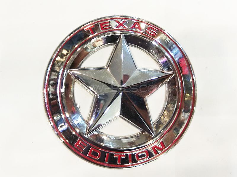 Texas Addition Metal Logo  Image-1