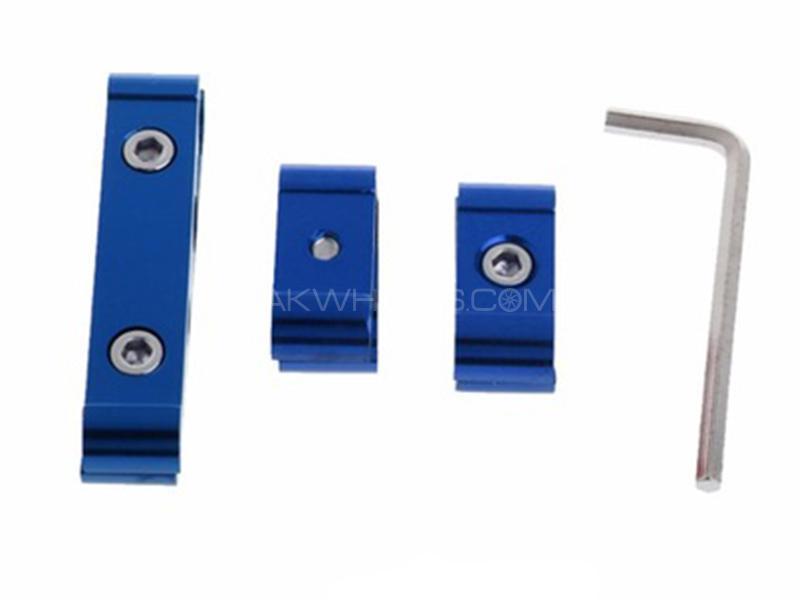 Universal Plug Wire Holder - Blue Image-1