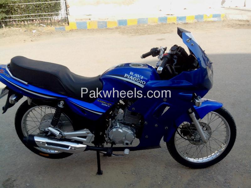 used ravi piaggio storm 125 2012 - id 105605. sherwani motors