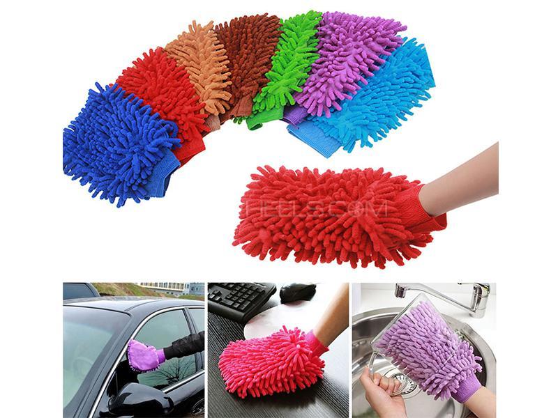 Microfiber Washing Glove  Image-1
