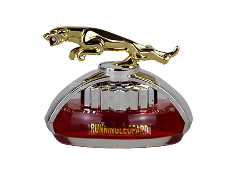 Dashboard Running Leopard Perfume - Red Image-1