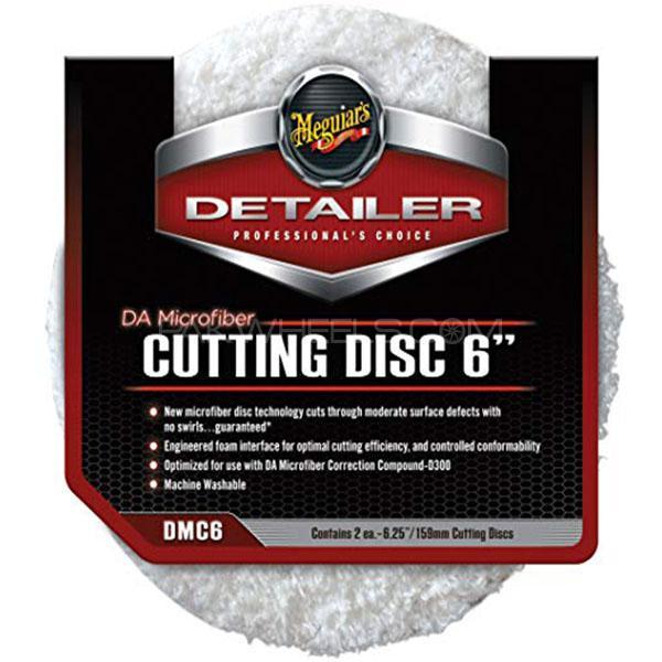 """Meguiar's Da Microfiber Cutting Disc 6"""" (2 Pack) in Lahore"""