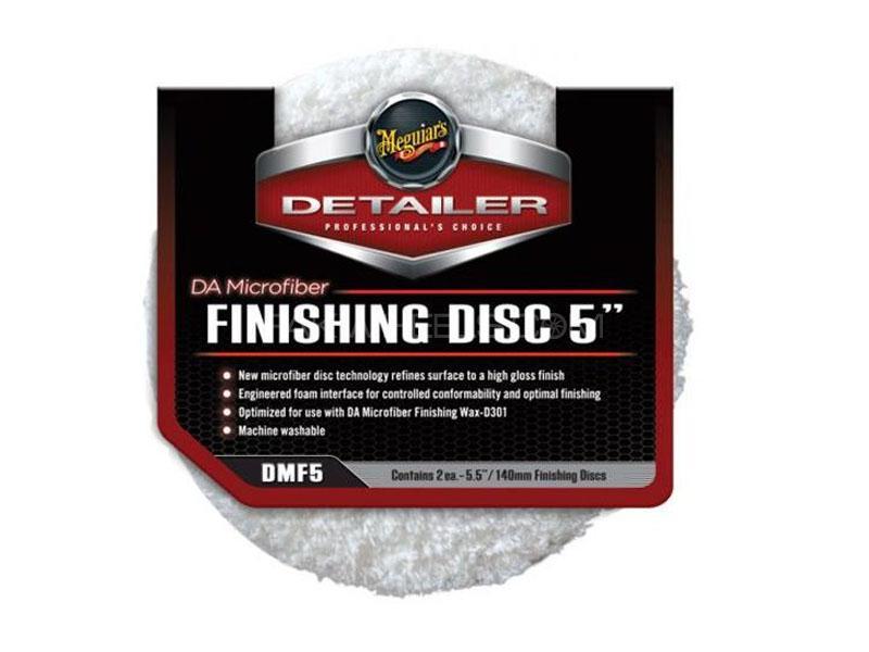 "Meguiar's Da Microfiber Finishing Disc 5"" (2 Pack) Image-1"
