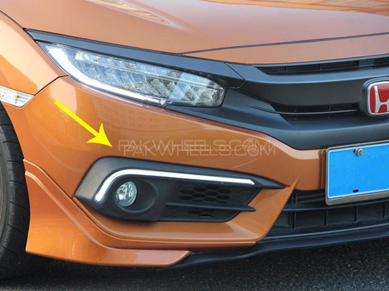 DRL Fog Light Covers For Honda Civic 2016-2018  in Lahore