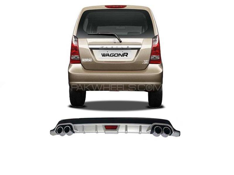 Suzuki Wagon R 2014-2019 Rear Bumper Diffuser  in Lahore
