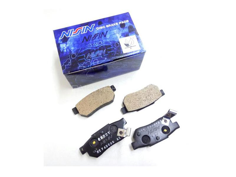 Nissin Japan Front Brake Pads For Honda Civic 2004-2006 Image-1