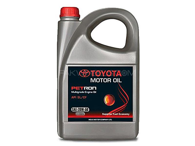 Petron Oil 20W-50 For Petrol Engine - 3 Litre  in Karachi