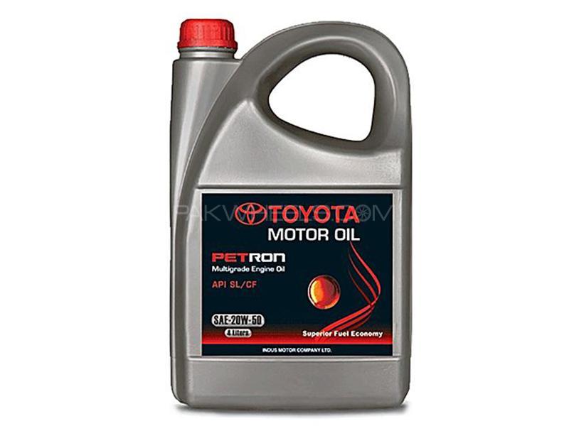 Petron Oil 20W-50 For Petrol Engine - 4 Litre  Image-1