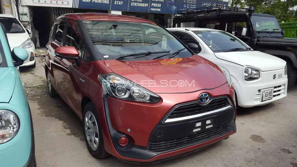 Toyota Sienta X LIMITED 2016 Image-1