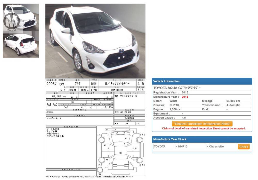 Toyota Aqua G
