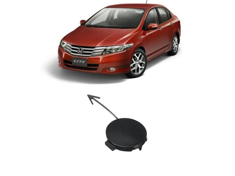 Front Bumper Tow Cover For Honda City 2009-2012  Image-1
