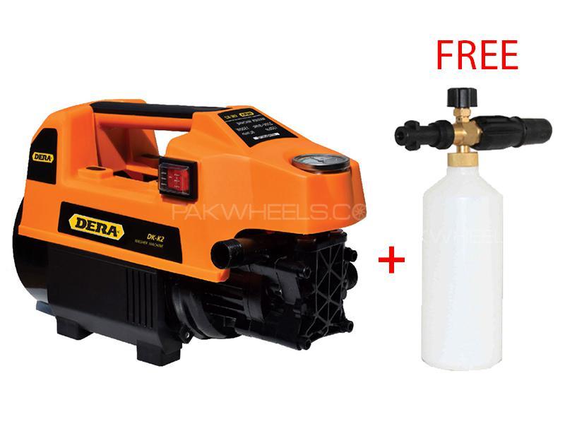 Dera DK-K2 150 Bar Washer 1500W With Free Snow Foaming Bottle Image-1