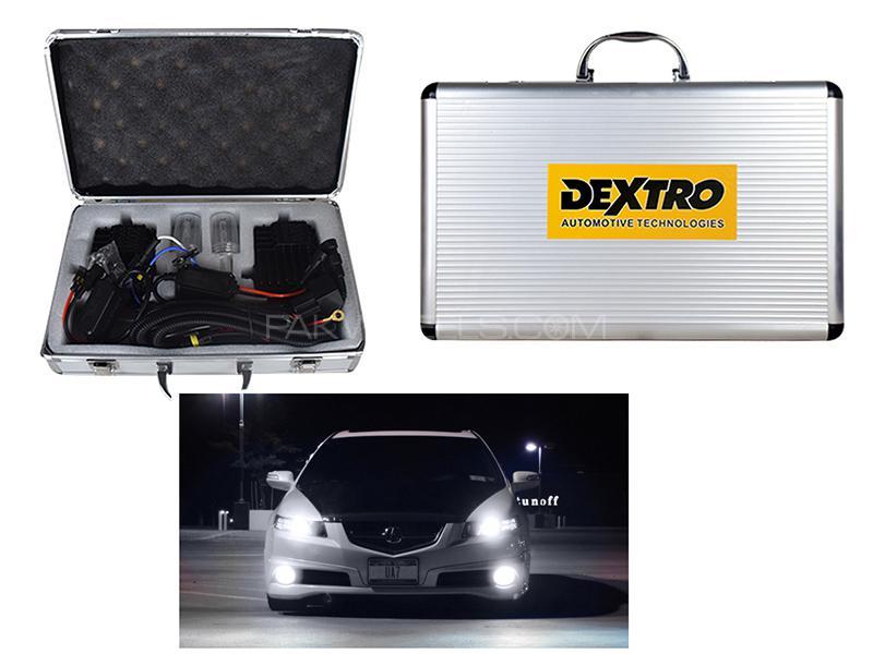 Brightest Dextro HID 200W 6000+ Lumens - H4 Image-1