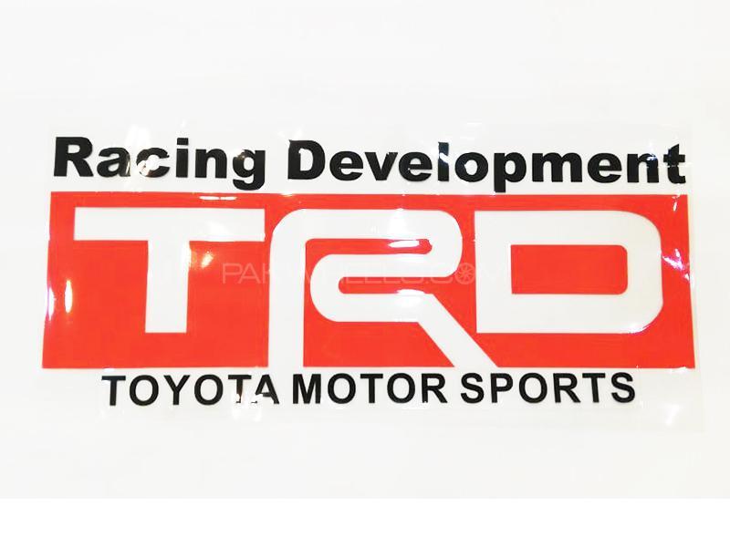 TRD Racing Development Sticker  Image-1