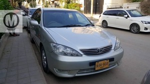 Toyota Camry  Leather Package  Sunroof  2005 Model  Reg 2005  Silver Colour  1,20,000 Km Fuel average 9+ km/ltr  2400 cc  2 Pc Touchup