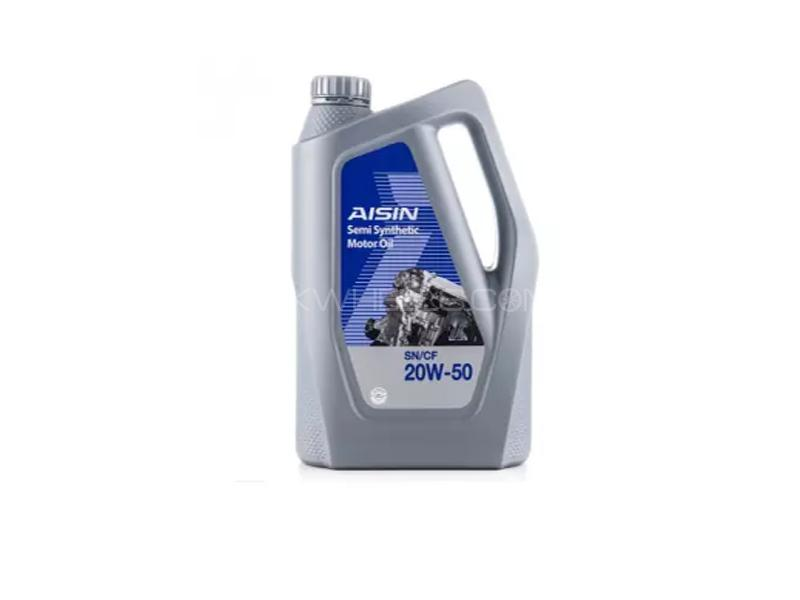 Aisin CF-4 20w50 Semi Synthetic Engine Oil 6L Image-1