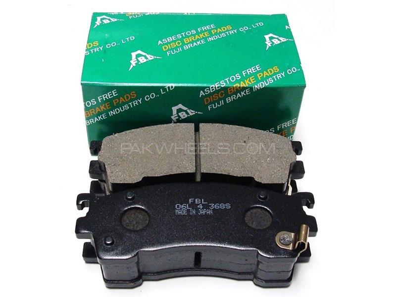 FBL Japan Rear Brake Pads For Honda Civic 2004-2006 Image-1