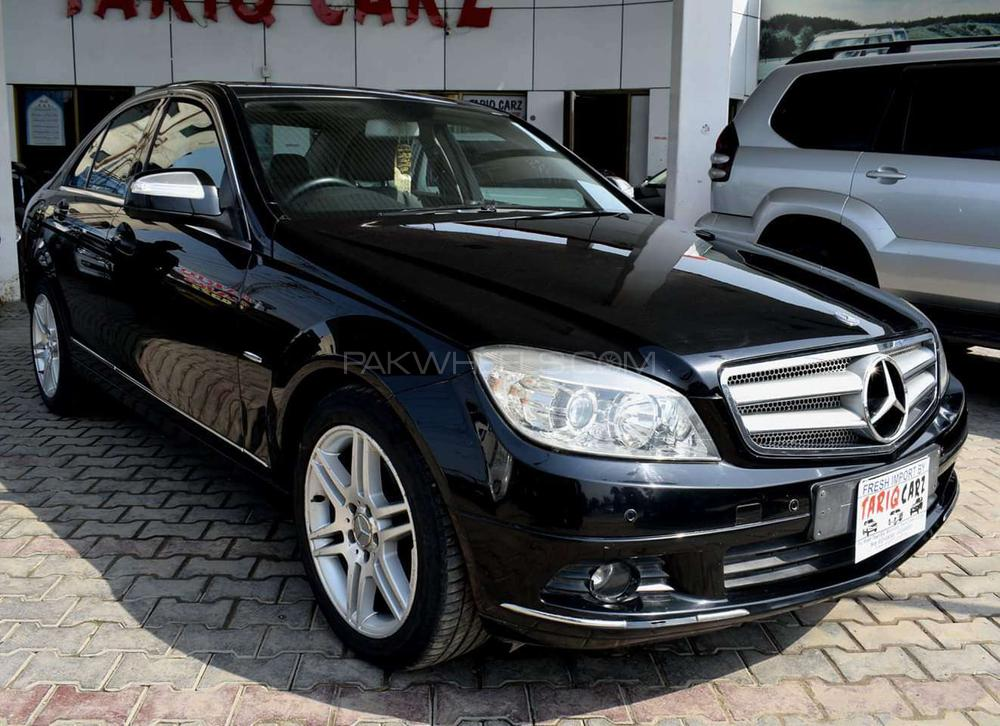 mercedes benz c class c200 2008 for sale in lahore pakwheels. Black Bedroom Furniture Sets. Home Design Ideas