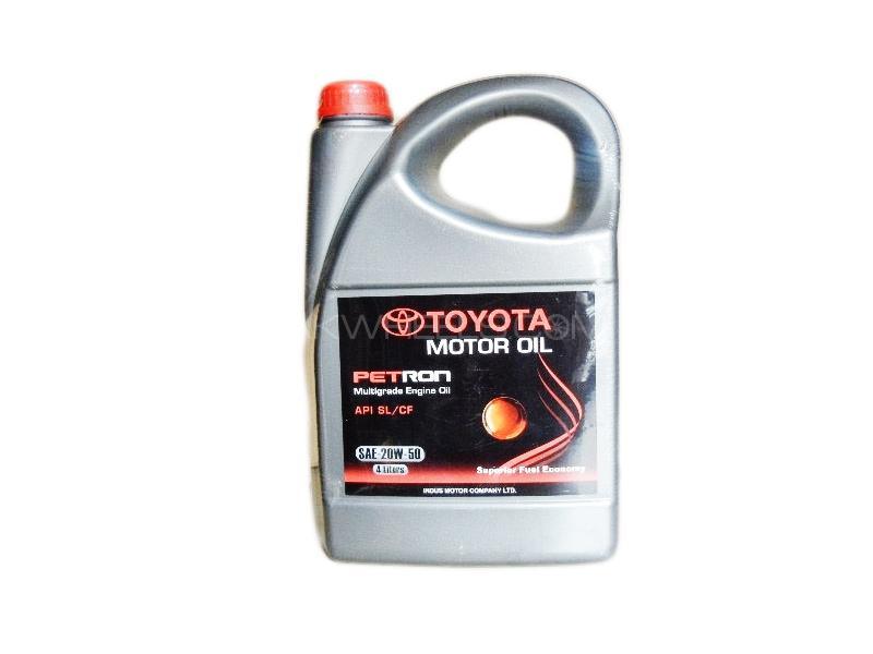 20w50 Toyota Proton Genuine Engine Oil 4L Image-1